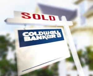 Coldwell Banker SOLD sign